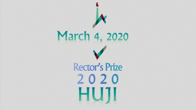 Rector's Prize 2020