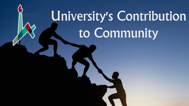 University's Contribution to Community